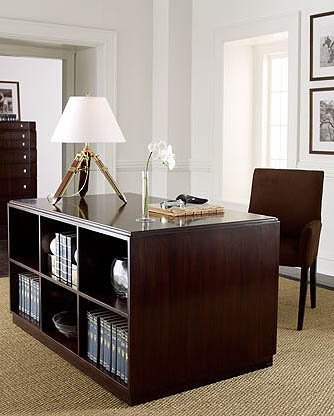 Un escritorio de Ralph Lauren.