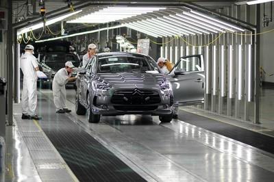 Arranca la producción del DS5 en China