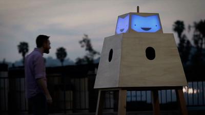 El Sonrisatrón, el robot que te hará feliz