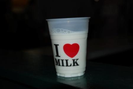 La leche en los deportes de fuerza