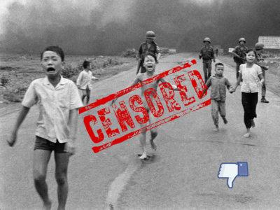 La niña del napalm no está sola: otras fotos censuradas por Facebook sin mucho sentido