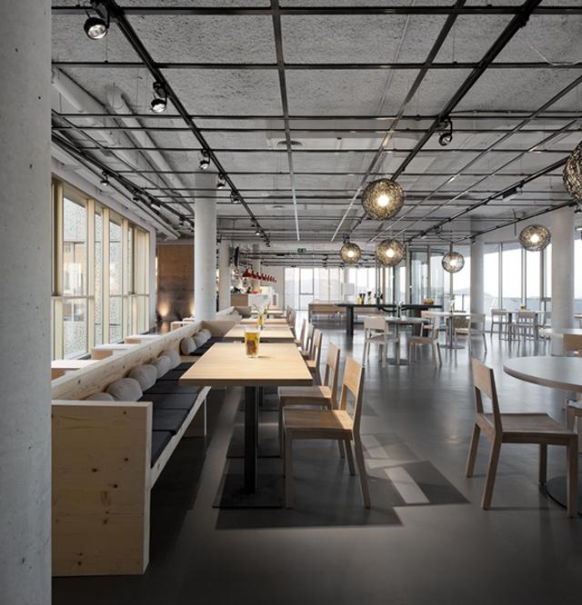 Espacios para trabajar: Basque Culinary Center