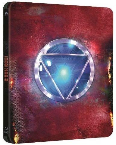 La edición metálica en Blu-ray de Iron Man 3