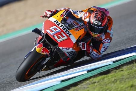 Marc Marquez Test Jerez