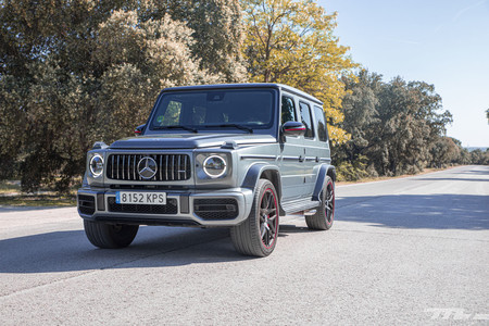 Mercedes-AMG G63 frontal lateral