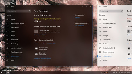 Win10 Project Neon Ui Task Scheduler By Bxj