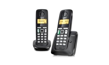 Gigaset A220 Duo, un par de teléfonos inalámbricos DECT por sólo 29,90 euros en Amazon