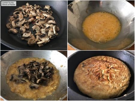 Paso A Paso Tortilla con sabor a Trufa