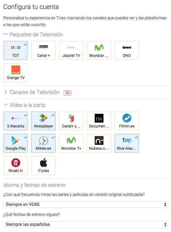 Tviso: los creadores de Series.ly combinan un gestor de series con la programación de la TV