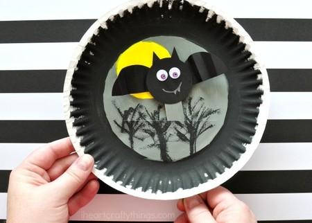 Manualidades Halloween Murcielagos Voladores