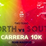 ¿De qué lado estás? Norte vs. Sur, la gran carrera de Madrid