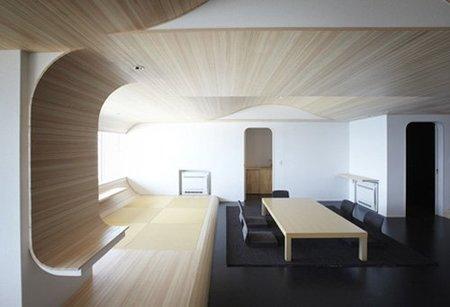 Kameya Hotel, suite diseñada por Touhoku University