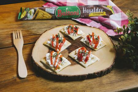 Hojaldre Burrata Y Pimiento 8
