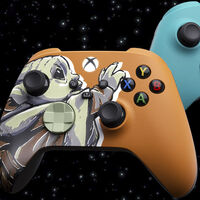 Xbox celebra el final de temporada de Mandalorian con estos dos mandos edición especial de Baby Yoda y el Mandaloriano