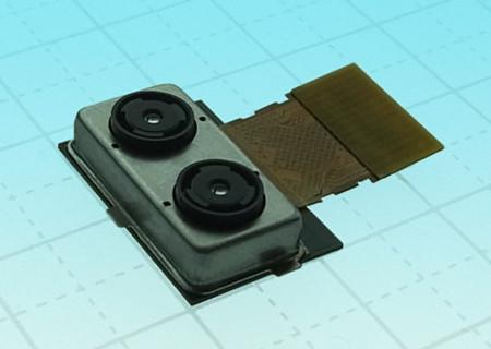 Toshiba vuelve a la carga con una cámara dual para dispositivos móviles