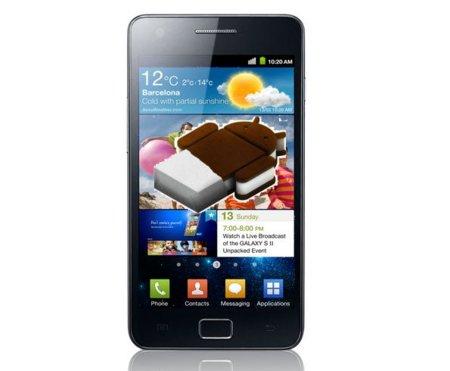 Samsung Galaxy SII y Note podrían recibir Ice Cream Sandwich el 1 de Marzo