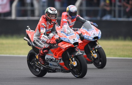 Jorge Lorenzo Andrea Dovizioso Gp Argentina Motogp 2018