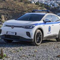 El Volkswagen ID.4 se presenta como la primer patrulla totalmente eléctrica en Grecia