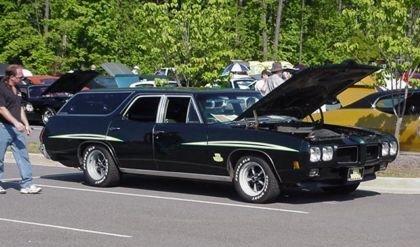 1970 Pontiac GTO Station Wagon
