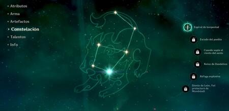 Constelaciones de Genshin Impact
