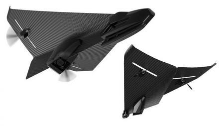 Carbon Flyer, un pequeño avión de fibra de carbono que controlaremos desde nuestro smartphone