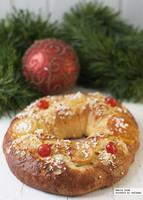 Cómo hacer un roscón de Reyes fácil. Receta