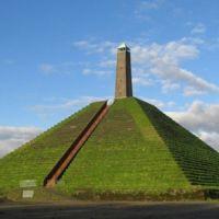 Esta es la única pirámide que existe en Europa y está en Holanda