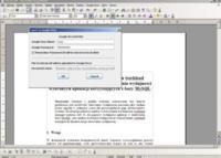 OpenOffice.org2GoogleDocs, importación y exportación de documentos