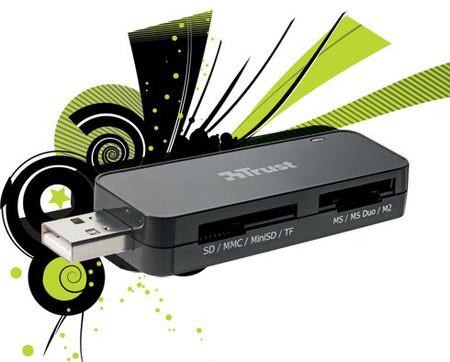 Trust SIM & Memory Card Reader, lector de tarjetas de bolsillo