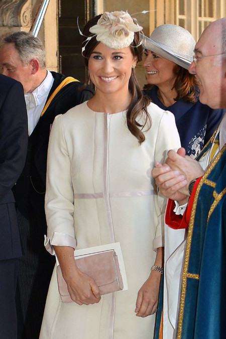 Tocado Pippa Middleton bautizo George