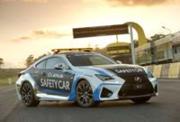 Lexus RC F se estrena como Safety Car