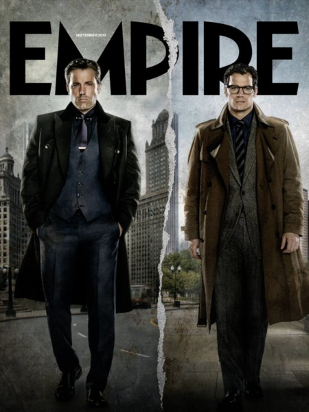 La contraportada de Empire dedicada a los alter egos de Batman y Superman