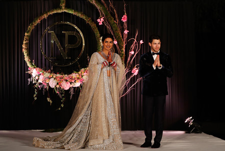 Priyanka Chopra Y Nick Jonas Recepcion En Nueva Dheli 1
