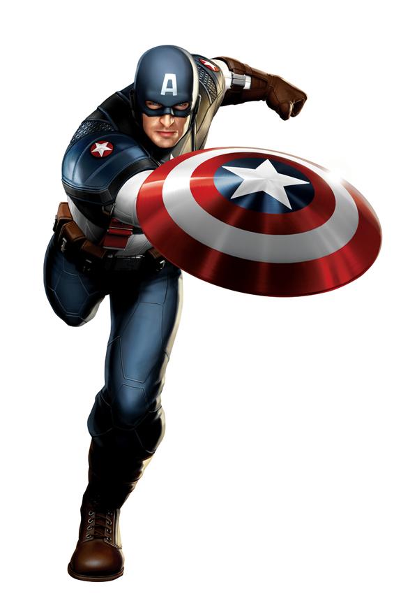 Foto de Capitán América y Thor, diseños de los trajes (2/5)