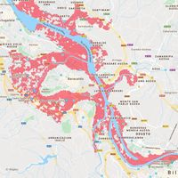 Así es como puede desaparecer el Gran Bilbao: en tres décadas, el nivel del mar amenazará a más de 200.000 personas en toda España