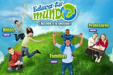 Educa tu mundo, web para familias sobre salud y medio ambiente
