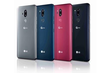 Lg G7 Thin Q Trasera