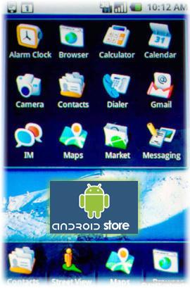 Android ofrecerá una tienda como la AppStore de iPhone