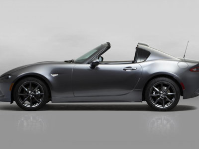 Sí, el Mazda MX-5 RF es el Mazda con techo targa que estabas esperando