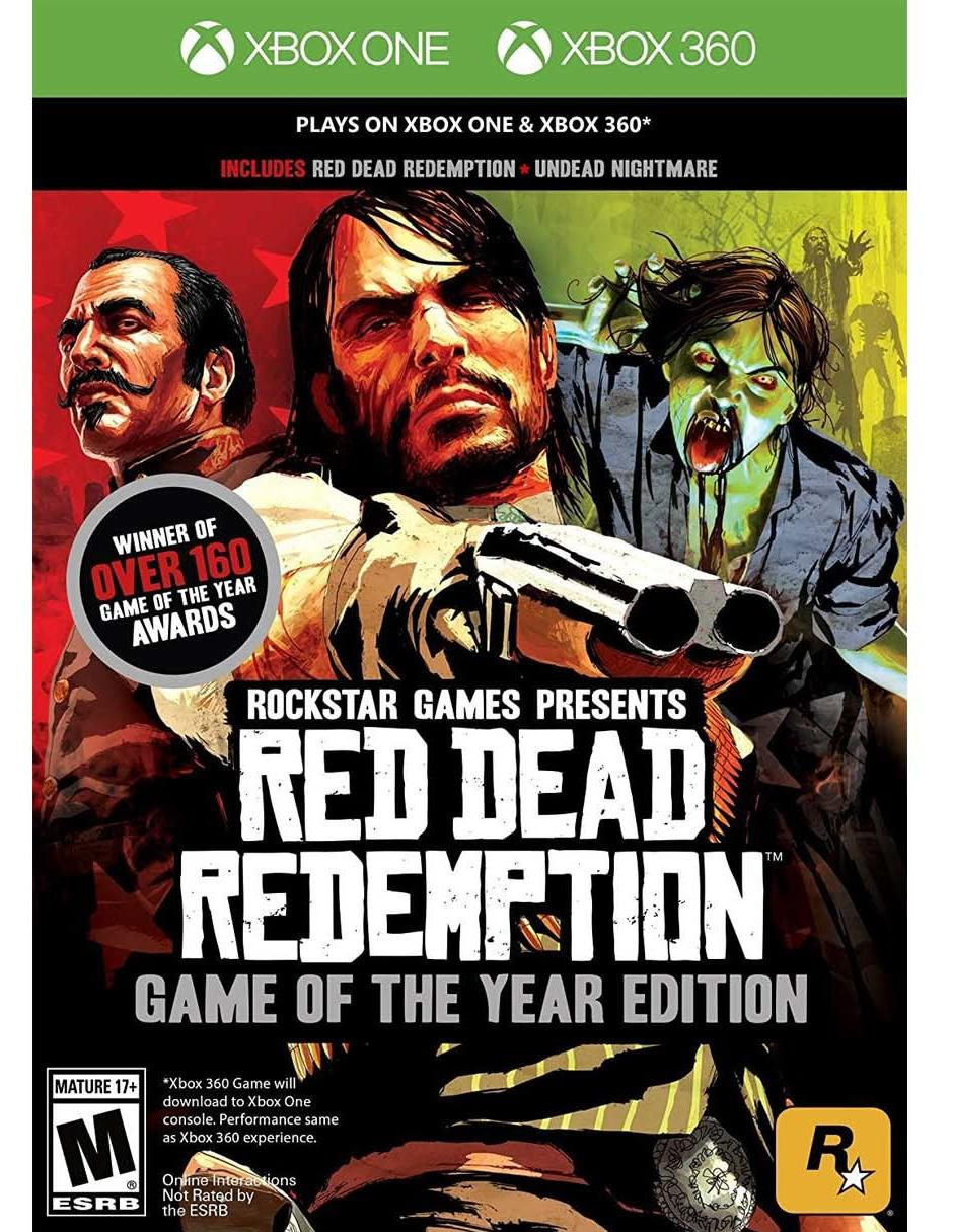 Red Dead Redemption: Game of the Year Edition para Xbox 360, Xbox One y Xbox Series X