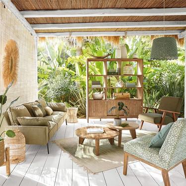 Con los muebles ecológicos de Maisons du Monde podrás crear un bungalow espectacular y cómodo para este verano