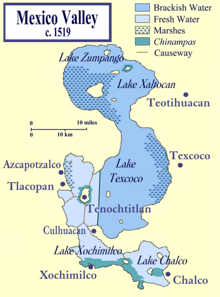 Lake Texcoco C 1519
