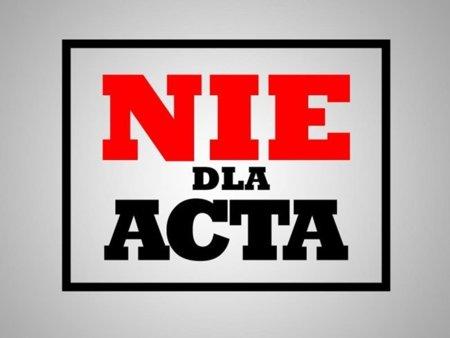 El 64 % de los polacos rechazan el #ACTA