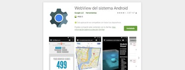 WebView of the Android system: what is it, what benefits does it have and why it should be updated