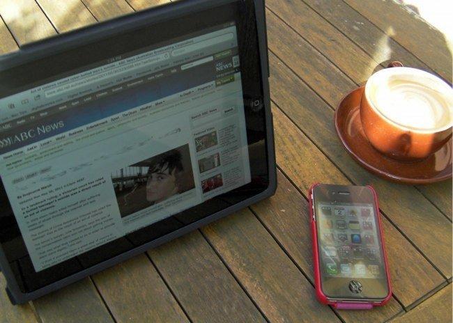 Conexión desde iPad e iPhone