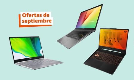 Ofertas de septiembre de Amazon: Nueve ordenadores portátiles a precio de escándalo para todos los bolsillos