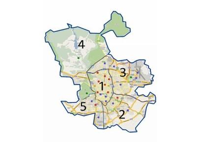 Zonas Contaminacion Madrid