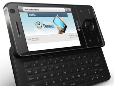 Firefox Mobile en el HTC Touch Pro