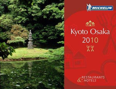 Si viajas a Japón, llévate la Guía Michelin Kyoto y Osaka 2010