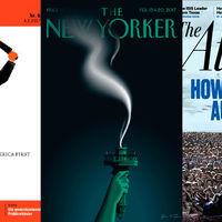 Gracias a Donald Trump, las portadas de las revistas políticas están viviendo una nueva edad de oro